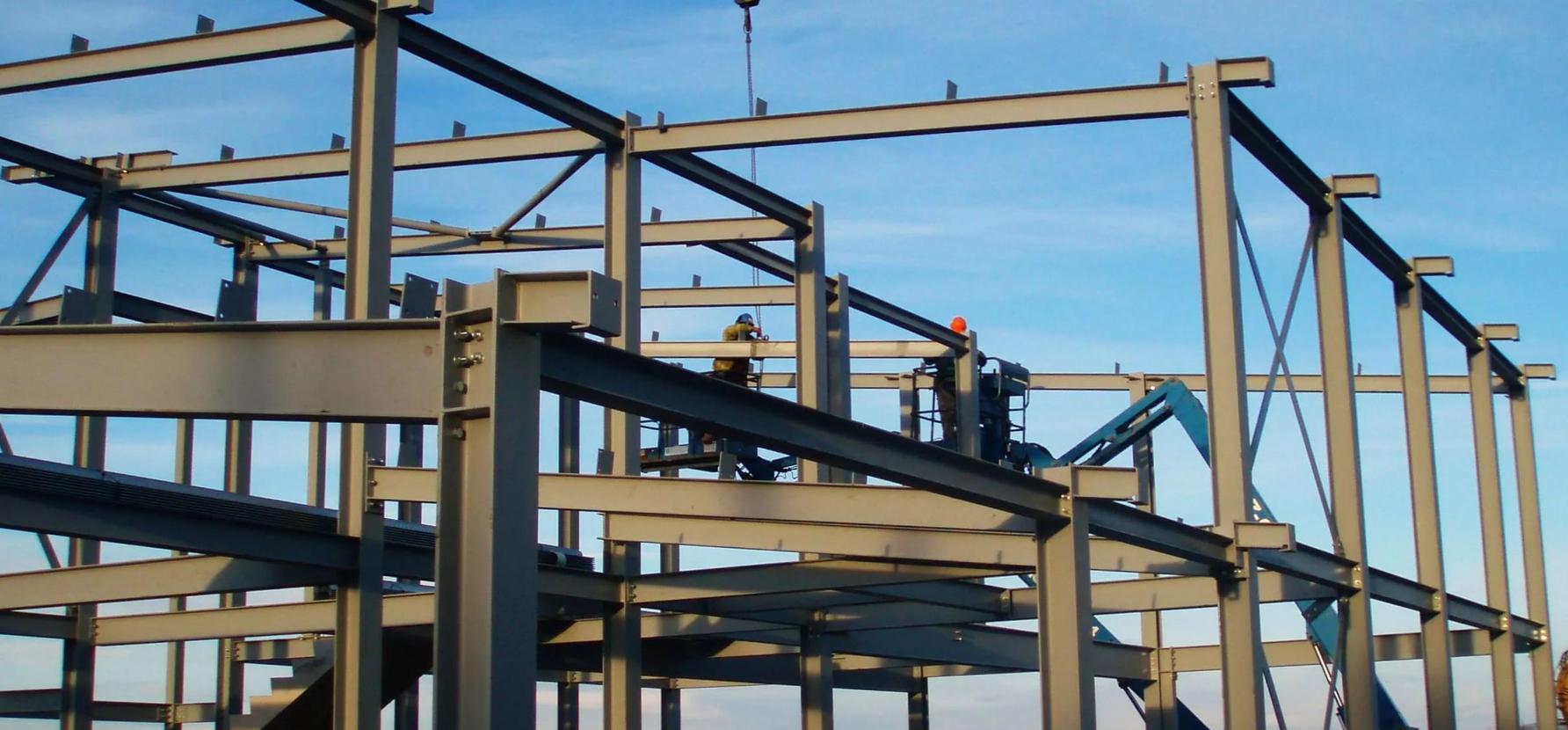 Строительство металлического каркаса