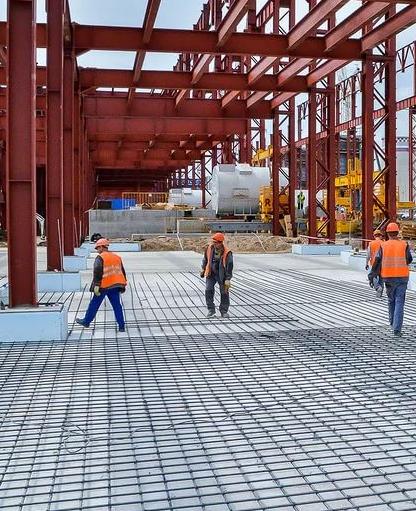 Строительство крупных территориально-производственных комплексов