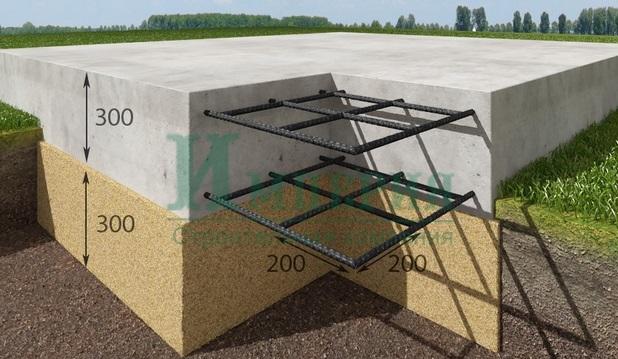 Плитный фундамент, Плитный фундамент, ПМстрой