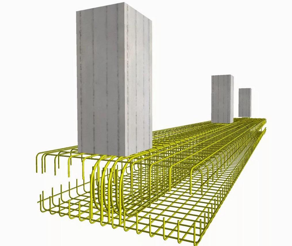 Фундамент под колонны, Фундамент под колонны, ПМстрой