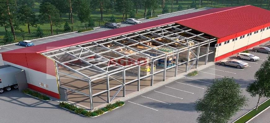 Construction Of Warehouses, ПМстрой