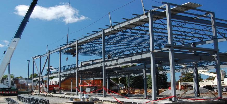 Строительство промышленных зданий и сооружений