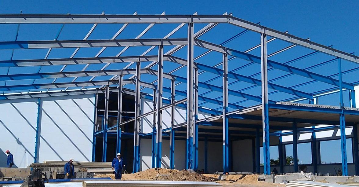 Строительство арочных ангаров