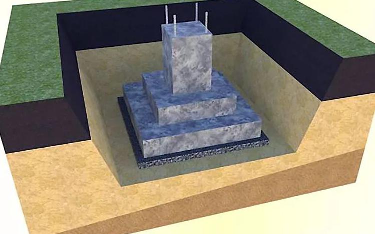 Фундаменты под колонны стаканного типа
