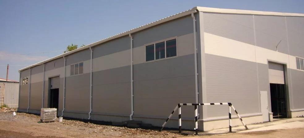 Строительство в промышленности, Быстровозводимые здания из металлоконструкций, ПМстрой