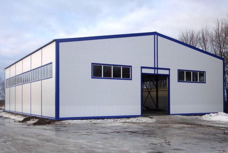 Строительство производственных помещений
