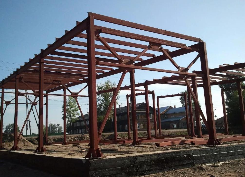 Строительство производственно-складских комплексов