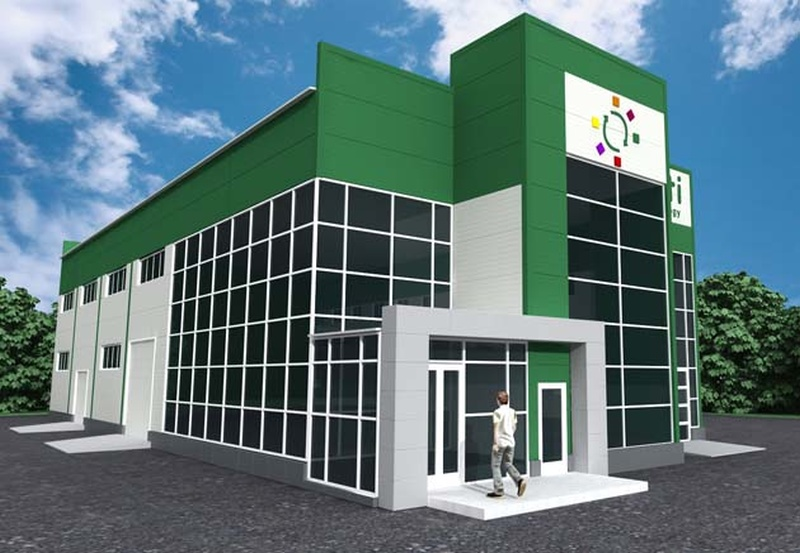 строительство административных зданий компании