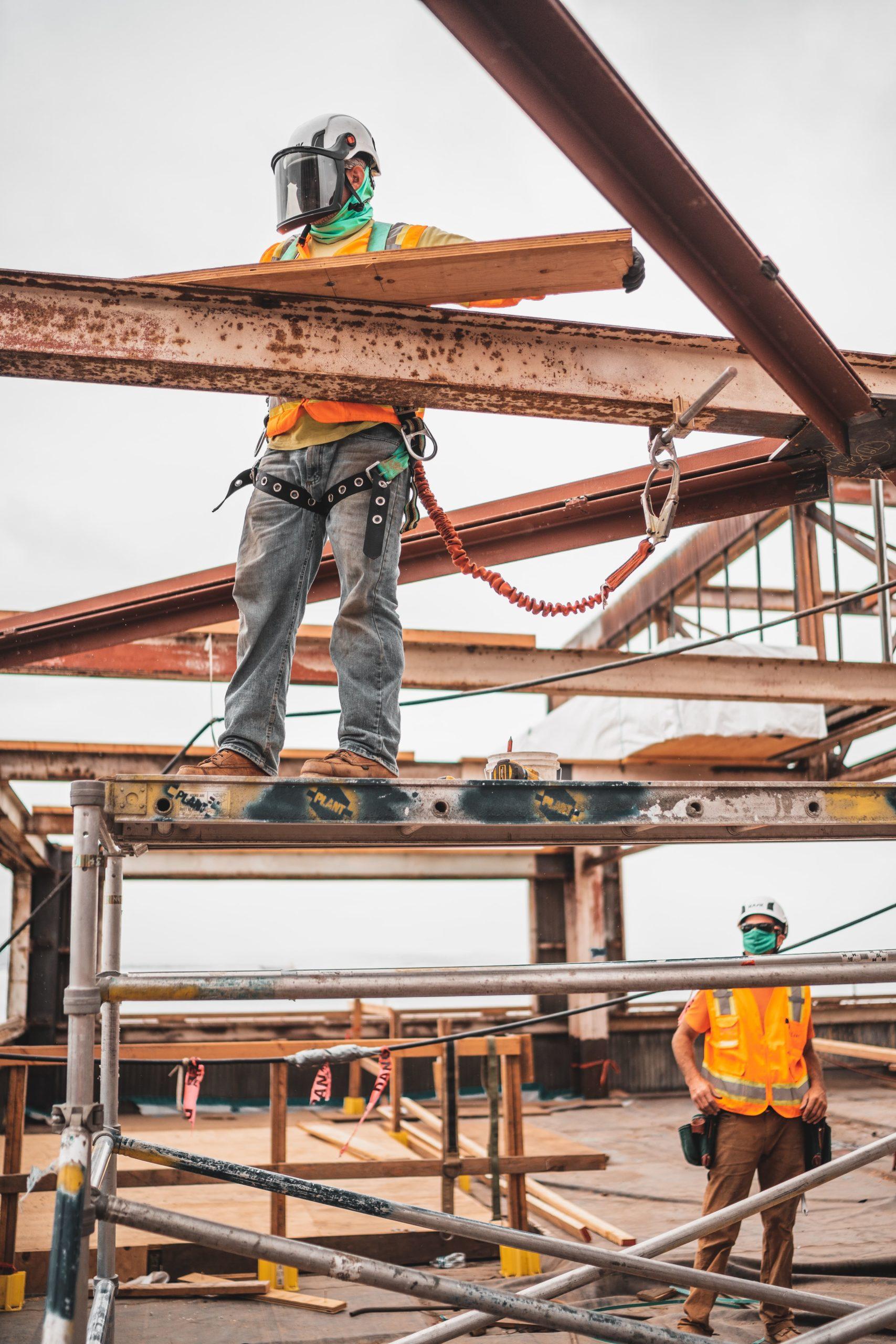Cтроительство зданий из металлоконструкций, Строительство металлического каркаса, ПМстрой