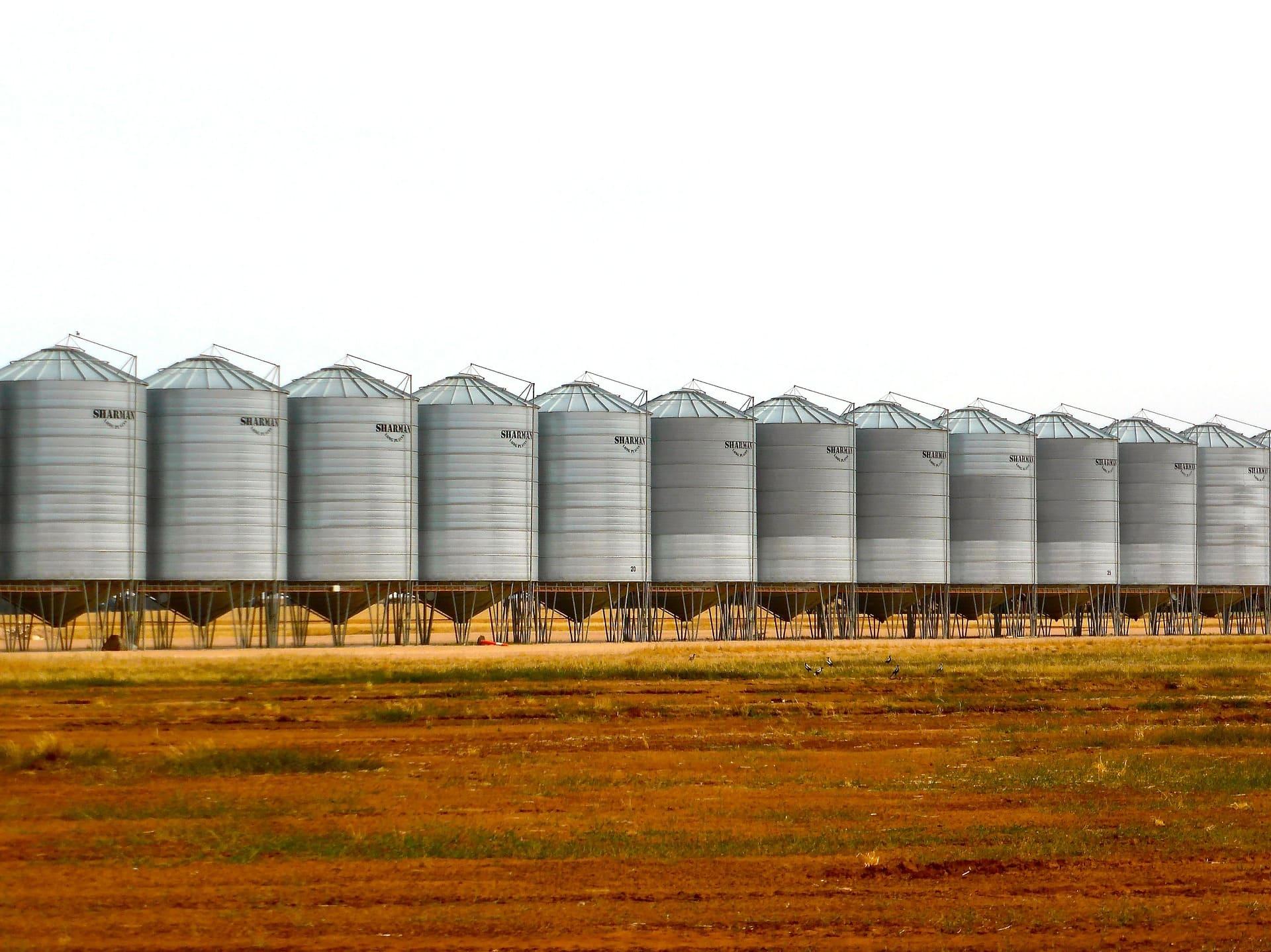 Строительство ангара под зерно, Строительство ангара под зерно, ПМстрой